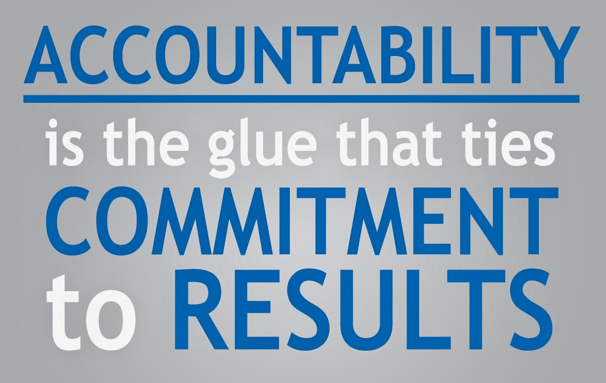 How Accountability Can Improve A Lot!